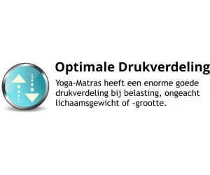 100% Optimale Drukverdeling Yoga Matras